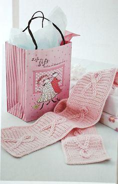 """pink"" crochet - breast cancer awareness"