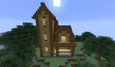 What a mine craft house love it
