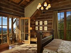 Rustic Mountain Retreat Offers Sweeping Views Over Big Sky Country.