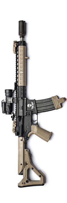 Noveske Rifleworks 300BLK carbine by Stickman. Option to mount US Optics or Nightforce, change buttstock, & bipod.