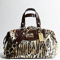 leopard-sequins coach bag