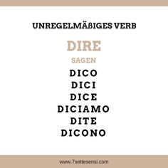 Italian verbs: In Italian, there are many verbs that are irregular. Reflexive Verben, Italian Verbs, European Languages, Italian Quotes, Italian Language, Learning Italian, Education Quotes, Teaching, How To Plan