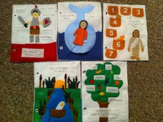 My Bible Quiet Book: Felt Busy Book for Ages 3 and Up. $80.00, via Etsy.