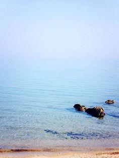 Crystal clear waters of Barbaros Bay, Bodrum