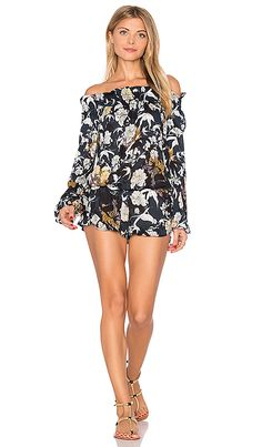 6645d27f2815 Shop for BEACH RIOT Lantern Romper in Midnight Floral at REVOLVE.