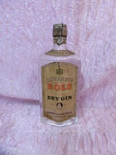 Silver Top Bols Dry Gin Sigillo Stella da Collezione l. 0,75 (14)