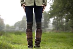 The iconic Dubarry Galway boots.