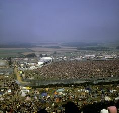 Three days of Love, Peace and Music, Isle of Wighte, 1970, Over 700,000 people!