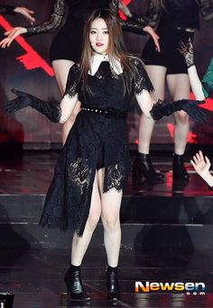 Stage Outfits, Kpop Outfits, Kpop Girl Groups, Kpop Girls, Cubes, Euna Kim, Fandom, Cube Entertainment, Soyeon