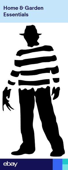 Freddy Krueger Nightmare On Elm Street Vinyl Car Window Laptop Decal Sticker Freddy Krueger, Window Stickers, Bumper Stickers, Image Svg, Pumpkin Carving Patterns, Nightmare On Elm Street, Silhouette Projects, Vinyl Decals, Car Decal