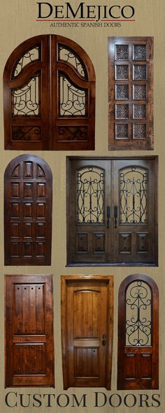 We offer a Unique Selection of Entry Doors & Interior Doors. Come by our showroom in Valencia CA to check see these Functional pieces of Art.