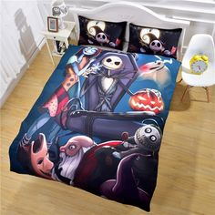 BeddingOutlet Bedding Set Nightmare Before Christmas Gift Home Cool Design Duvet Cover Twin Full Queen King Bed Sheet $41   => Save up to 60% and Free Shipping => Order Now! #fashion #woman #shop #diy  http://www.beddingonline.net/product/beddingoutlet-bedding-set-nightmare-before-christmas-gift-home-cool-design-duvet-cover-twin-full-queen-king-bed-sheet/
