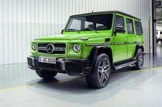 Mercedes обновил «Гелендваген»