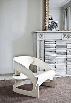 4801 chair by Joe Colombo for Kartell