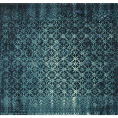 Features:  -Construction: Power loomed.  -Material: 50 % wool, 50 % acrylic.  Technique: -Flat woven.  Primary Color: -Blue.  Material: -Acrylic/Wool.  Product Type: -Area Rug. Dimensions:  Pile Heigh