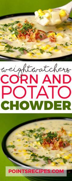 Corn and Potato Chowder (Weight Watchers SmartPoints)