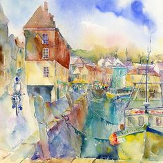 Padstow Cornwall by Sheila Gill