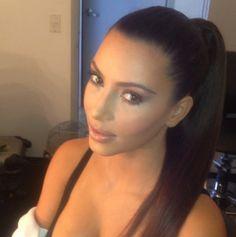 On set of Kardashian Kollection UK shoot! Makeup by Scott Barnes.