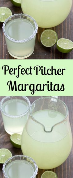 Perfect Pitcher Margarita recipe for a crowd. All you need is fresh lime juice, triple sec, and tequila. These make the best party drink! (Cocktail Drinks Triple Sec) Mango Margarita, Margarita Recipes, Margarita Party, Best Pitcher Margarita Recipe, Mexican Margarita Recipe, Margarita Punch, Best Margarita Recipe For A Crowd, Perfect Margarita, Margarita Cocktail
