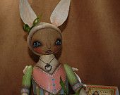sping bunny~available now, http://www.etsy.com/shop/robinseeber