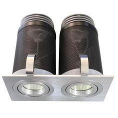 LED SQUARE TILT/ROTATE DOUBLE Interior Led Lights, Lighting Suppliers, Lighting Solutions, Downlights, Tilt, Indoor, Interior