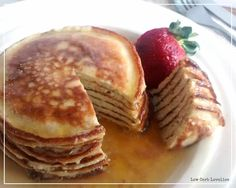 Cinnamon Ricotta Hot Cakes - by Low Carb Lovelies