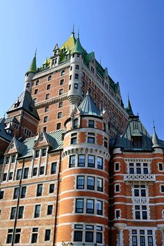 ✯ Chateau Frontenac in Quebec City, Canada