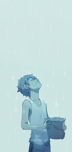 """""""I miss rain.""""<<<Lance in the rain is one of those things that just makes me inexplicably happy."""