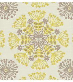 Upholstery Fabric- Waverly - Kaleidoscope Sterling