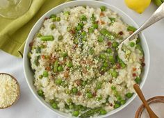 Recipe: Easy Baked Risotto with Spring Vegetables