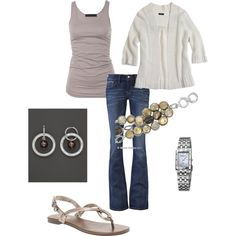 """""""Beachy"""" by vintagesparkles78 on Polyvore"""