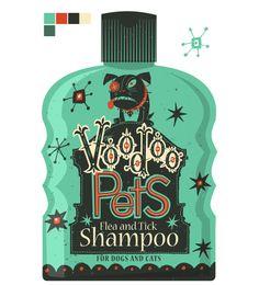 Voodoo Pets by Steve Simpson, via Behance
