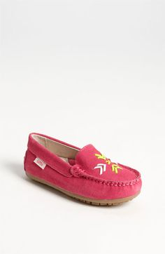 Umi 'Morie' Moccasin (Toddler, Little Kid & Big Kid) available at Nordstrom,  adorable