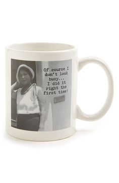 Trash Talk by Annie 'I Did It Right the First Time' Mug available at #Nordstrom