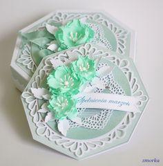Blog Craft Passion: Kartka okolicznościowa z pudełkiem/ Greeting card with a box Covered Boxes, Shoe Box, Envelopes, Decorative Boxes, Greeting Cards, Money, Blog, Inspiration, Design
