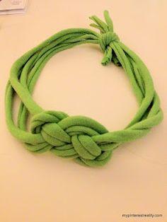 DIY Jersey Knit Headband