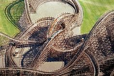 Gwazi at Busch Gardens :) Me and my best friend LOVED that ride, and we rode it 3 times in a row!  It's so fast, I LOVE IT