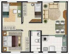 Картинки по запросу casa 3 quartos