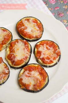 Pizza vegetal de berenjenas