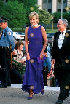C/n 022750 6-5-1996 Princess Diana at the Field Museum of Natural History Gala Photo By:dave Chancellor-alpha-Globe Photos, Inc