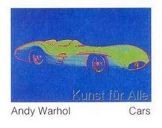 Andy Warhol - Cars, Formula - I - Car W 196 R, Bj. 1954
