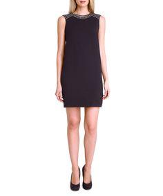TAHARI Black sleeveless shift dress, Designer Dresses Sale, Tahari , SECRETSALES