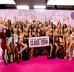 Victoria's Secret fashion show class of 2014 <3