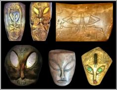 The artifacts reveal drawings of extraterrestrials, UFOs, wormholes, stargates…
