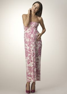 $168 The Maxi Dress available in mint or raspberry. Perfect for Spring and Summer.