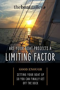When deciding what boat work to do first, we ask ourselves one question to decide what's really important What If Questions, This Or That Questions, Boat Projects, How To Remove Rust, Your Back, Hold You, Not Good Enough, Meant To Be, Cruise
