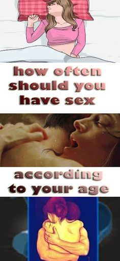 How Often You Should Have Sex According To Your Age (CHART)!