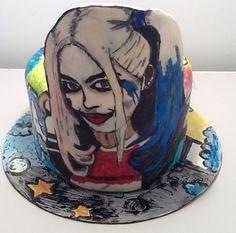 Harley Quinn Suicide Squad Birthday Cake