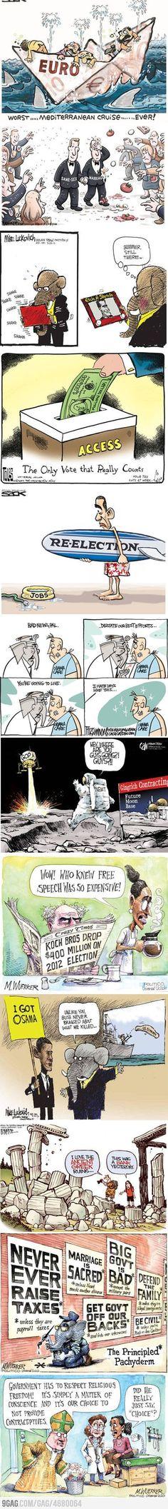 Top Political Cartoons