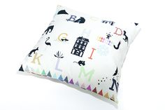 Image of Pillow cover abc  Pernilla Andersson